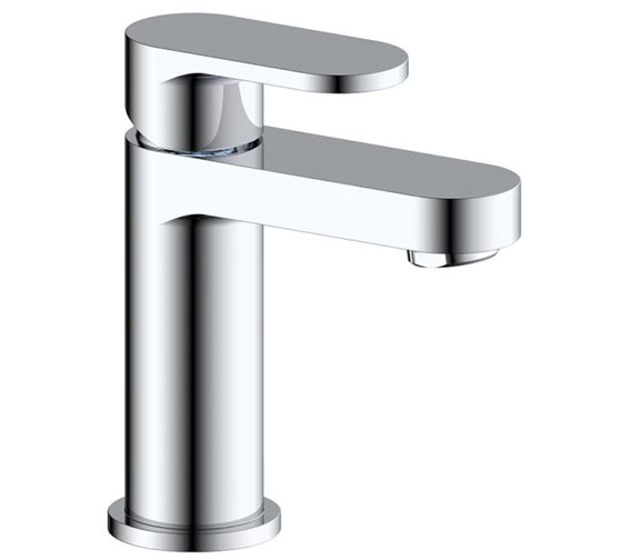 Pura Duro Basin Mixer Tap With Clicker Waste