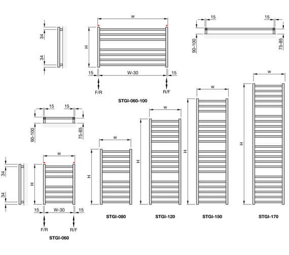 Technical drawing QS-V102682 / STNI-060-045