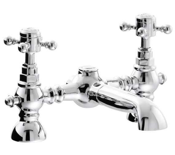 Abode Sentiment Chrome Deck Mounted Bath Filler Tap