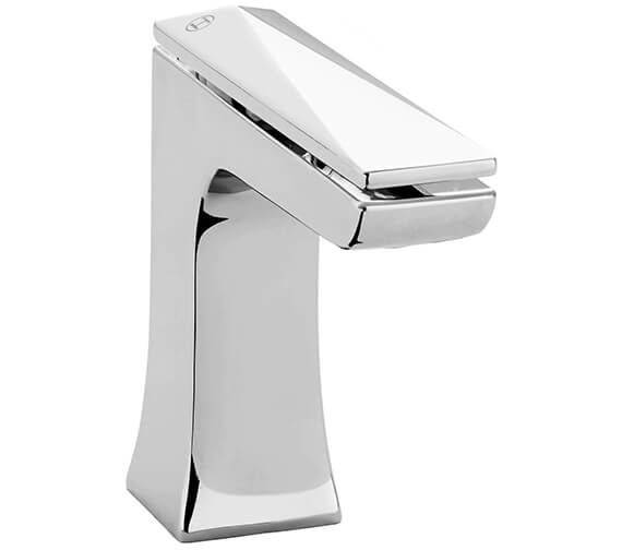 Heritage Hemsby Chrome 1 Taphole Basin Mixer Tap With Clicker Waste