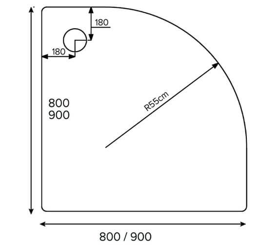 Technical drawing QS-V78283 / A80Q100