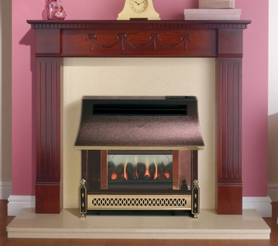 Robinson Willey Sahara LFE Outset Gas Fire