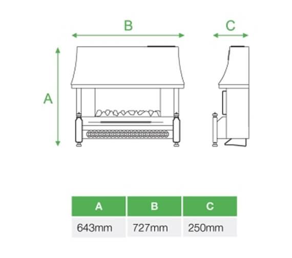 Technical drawing QS-V99411 / A97030