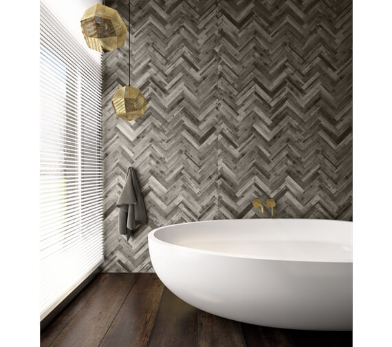 Additional image of Nuance 2420mm x 1200mm Shell Postformed Wall Panel