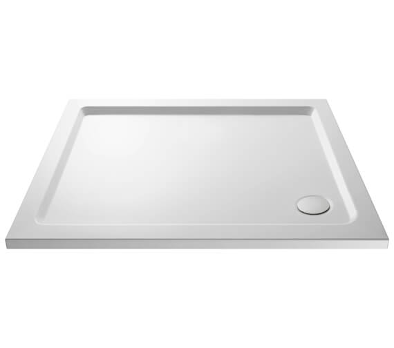 Hudson Reed Pearlstone 40mm Slimline ABS Acrylic Rectangular Shower Tray