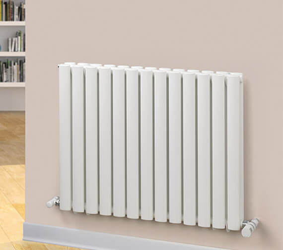 MHS Rads 2 Rails Finsbury Horizontal 600mm High Single Or Double Radiator