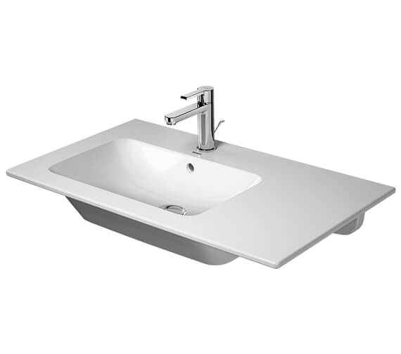 Duravit ME By Starck 830mm Wide Furniture Washbasin