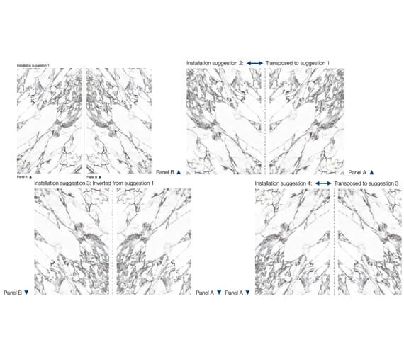 Alternate image of Nuance 2440mm x 1200mm x 4mm Acrylic Panel