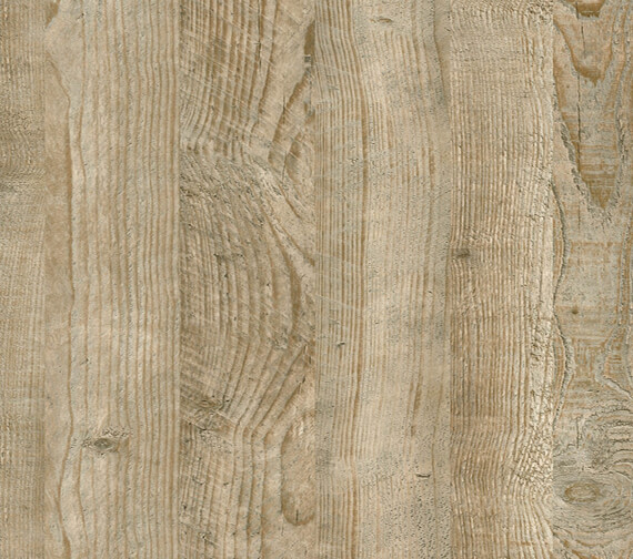 Nuance 2420mm x 1200mm Grain-Laminate Postformed Wall Panel