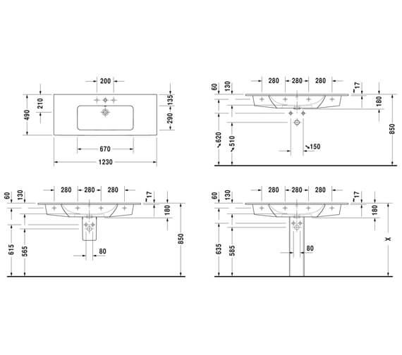 Technical drawing QS-V4569 / 2336630000