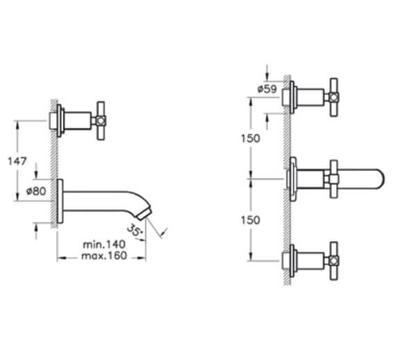 Technical drawing QS-V101323 / A40831EXP