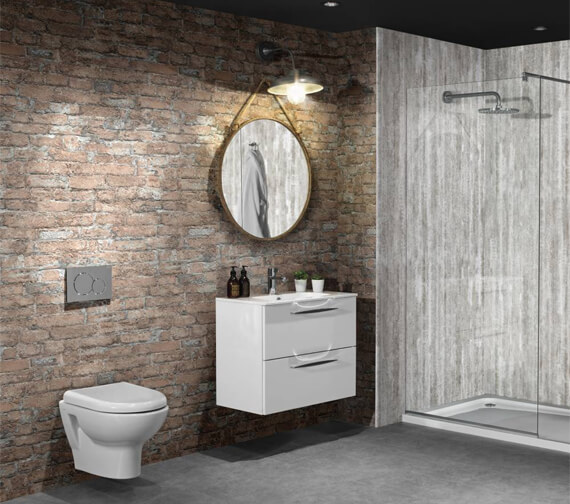 Nuance 2420mm x 1200mm x 11mm Capital Brick Tongue And Groove Wall Panel