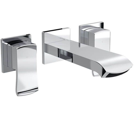 Bristan Descent Wall Mounted Basin Mixer Tap