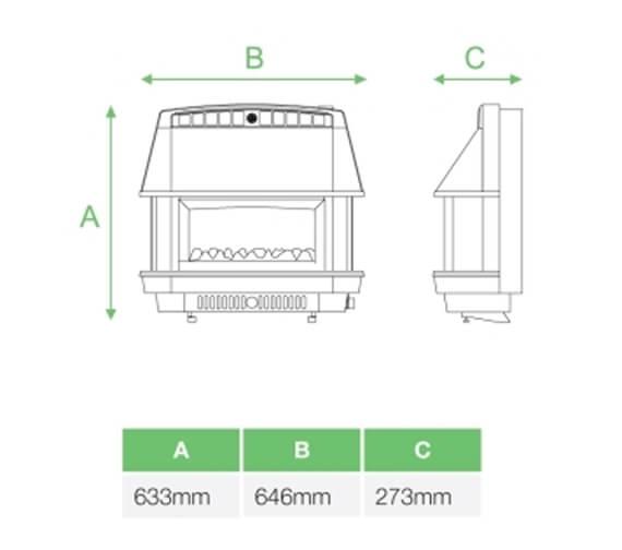 Technical drawing QS-V99417 / A99027