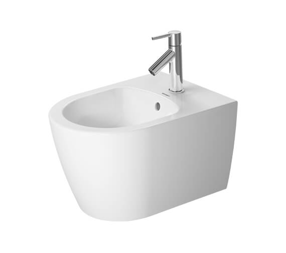 Duravit ME By Starck Compact 370 x 480mm Wall Mounted Bidet