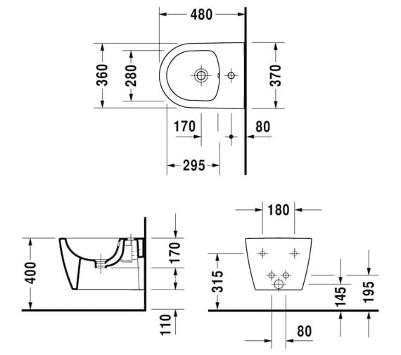 Technical drawing QS-V88889 / 2290150000