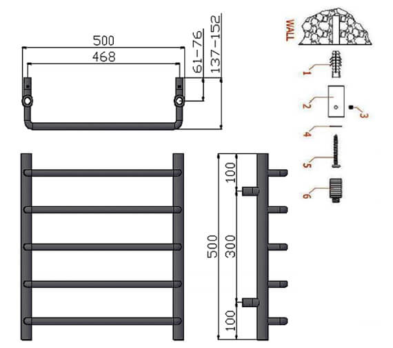 Technical drawing QS-V20729 / RND-ALN5050