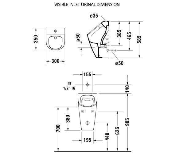 Technical drawing QS-V88890 / 2815300000