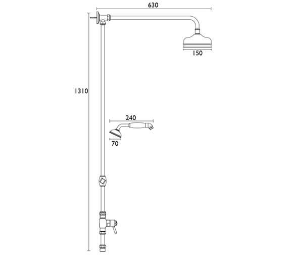 Technical drawing QS-V82420 / STC15