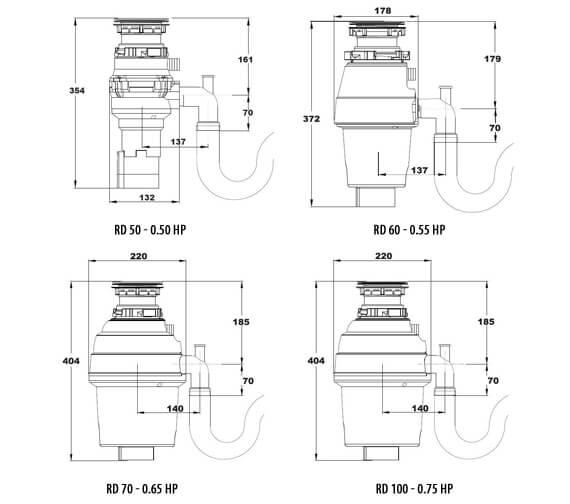 Technical drawing QS-V99157 / RD 50