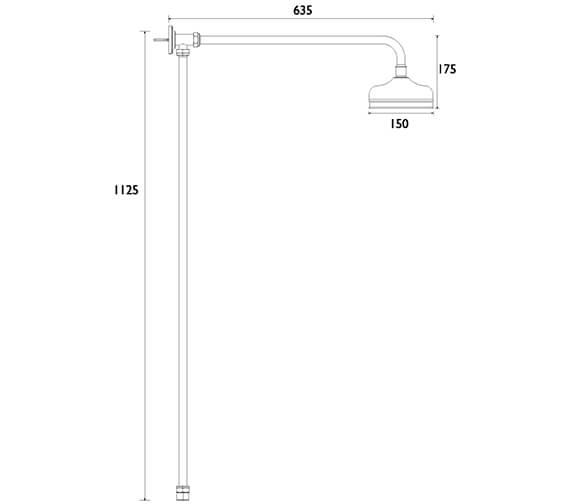 Technical drawing QS-V84162 / STC16