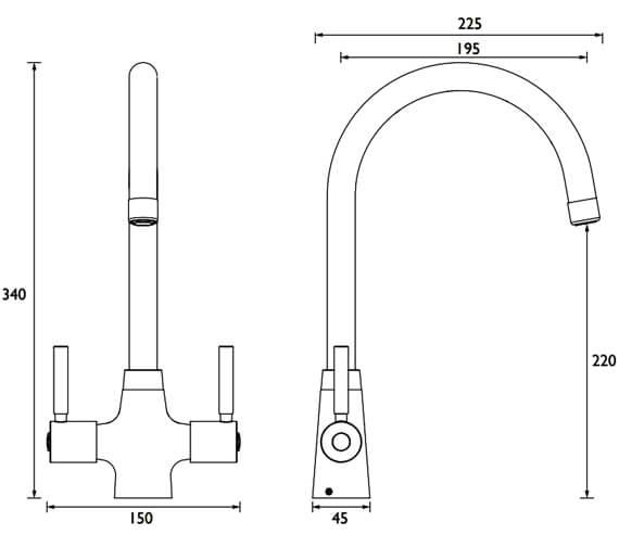 Technical drawing QS-V52276 / MZ SNK EF C