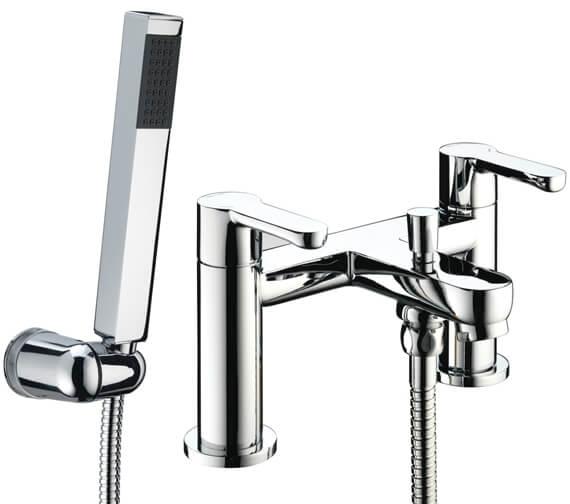 Bristan Nero Bath Shower Mixer Tap - NR BSM C