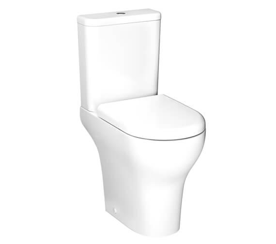 VitrA Zentrum Close Coupled Rim-Ex WC Pan With Cistern