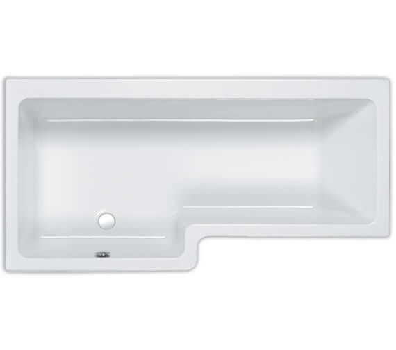 Carron Quantum 5mm Acrylic Shower Bath 1600 x 700-850mm