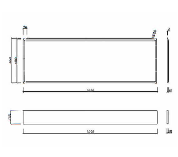 Technical drawing QS-V99476 / FP1700