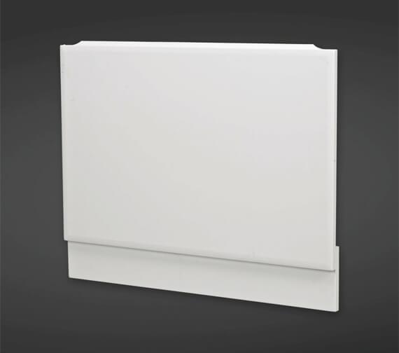RAK Gloss White End Bath Panel