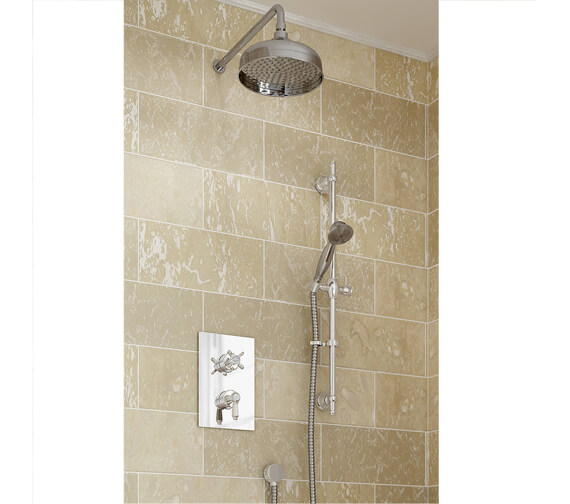 Bristan Renaissance 2 Recessed Dual Control Shower Pack