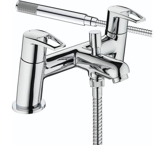 Bristan Smile Deck Mounted Bath Shower Mixer Tap