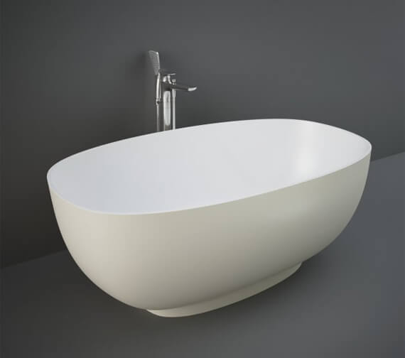 Additional image of RAK Cloud 1400 x 753mm Freestanding Double Ended Oval Bath