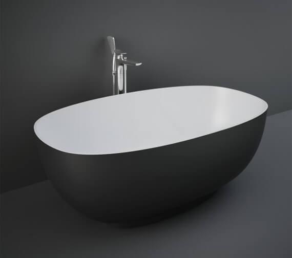 Alternate image of RAK Cloud 1400 x 753mm Freestanding Double Ended Oval Bath