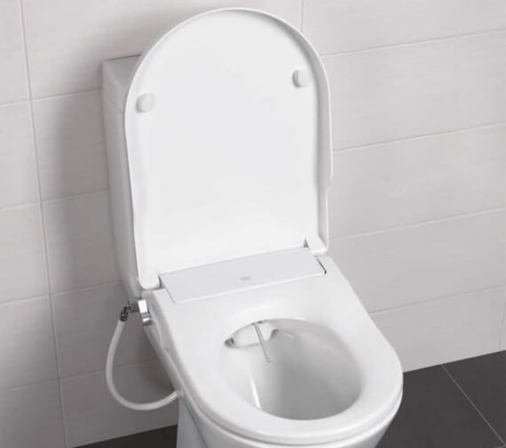 RAK Manual Non-Electric Bidet Function Soft Close Toilet Seat