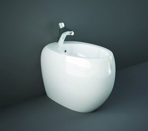 RAK Cloud Back To Wall Bidet With 1 Tap Hole - 560mm Projection
