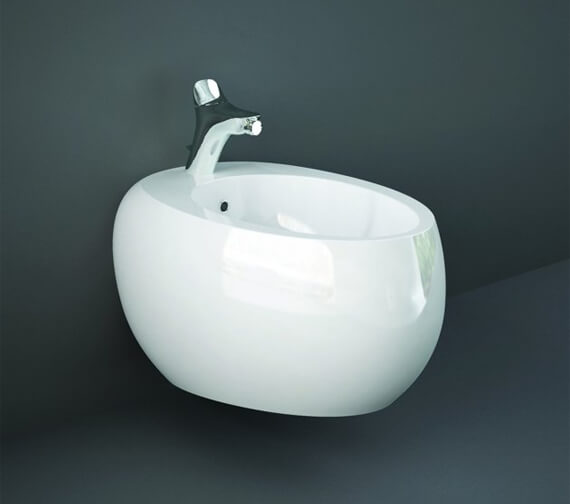 RAK Cloud Wall-Hung Bidet With 1 Tap Hole - 560mm Projection