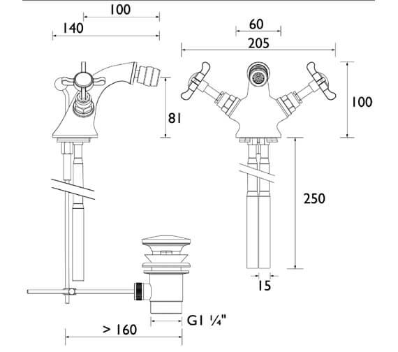 Technical drawing QS-V54039 / N BID C CD