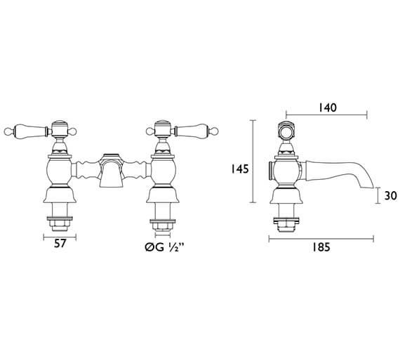 Technical drawing QS-V54891 / TGRC07