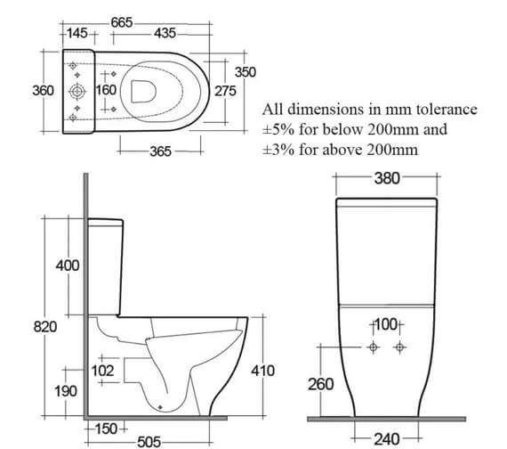 Technical drawing QS-V99497 / HARPAKSC