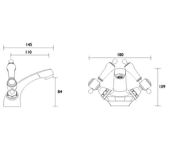 Technical drawing QS-V54887 / TGRC04
