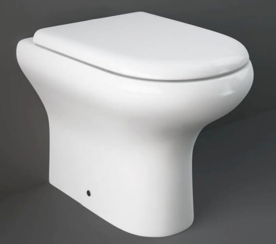 RAK Compact Back To Wall WC Pan With Soft Close Seat Urea