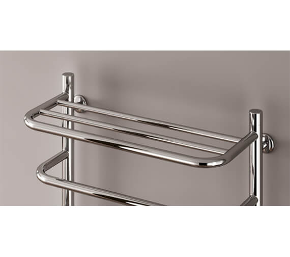 Additional image of Reina Elvo 530 x 660mm Polished Stainless Steel Towel Rail