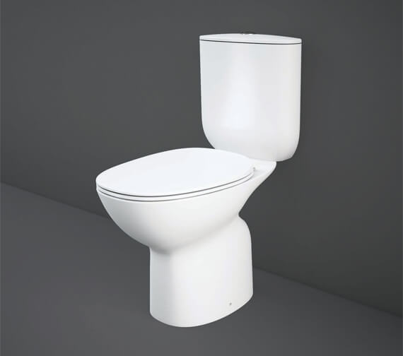 RAK Morning Full Access Rimless Close Coupled WC Pack With Urea Soft Close Seat