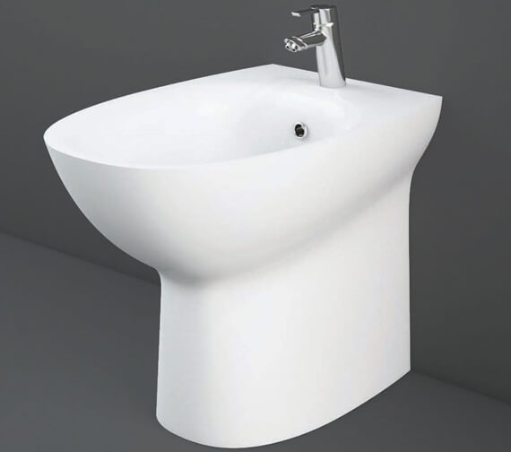 RAK Morning Back To Wall Bidet 520mm Projection