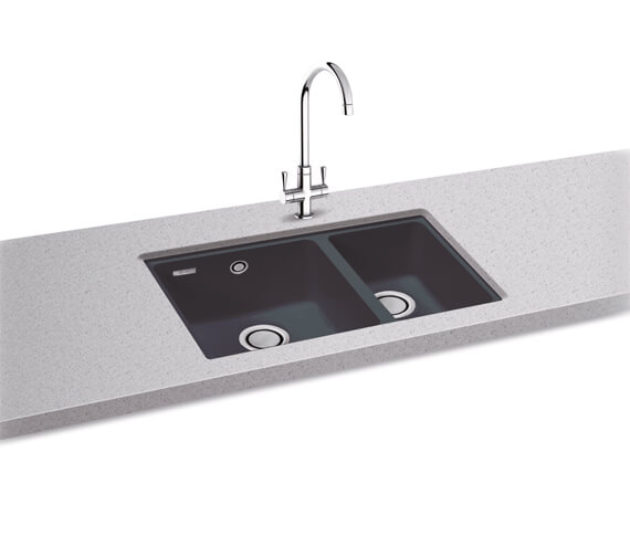 Additional image of Carron Phoenix Fiji 150 Champagne 1.5 Bowl Undermount Sink