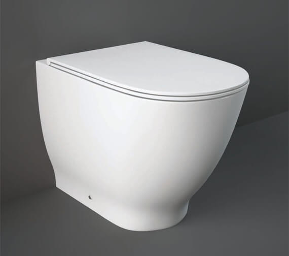 RAK Moon Back To Wall WC Pan With Urea Soft Close Seat - 560mm Projection