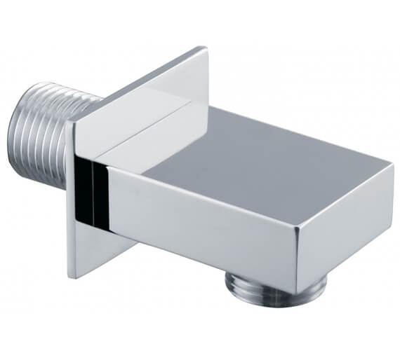 Alternate image of Triton Chrome Shower Wall Outlet - Round or Square
