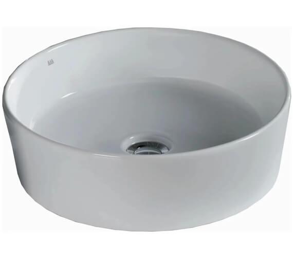 Alternate image of RAK Caramics Moon Sit-On Countertop Basin - Round - Oval - Rectangle